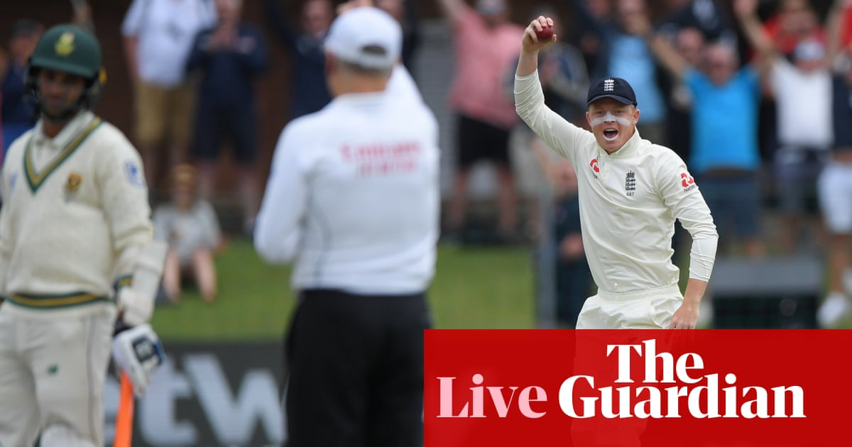 South Africa v England: third Test, day five – live!