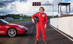 Freddie Hunt, son of the 1976 Formula One world champion James Hunt.