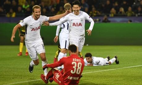 Spurs secure top spot after Son Heung-min screamer sinks Borussia Dortmund