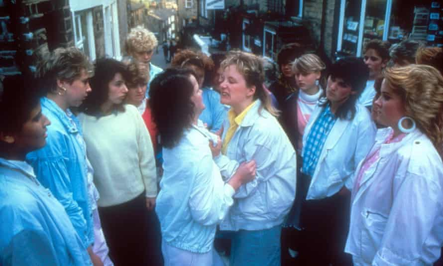 The film version of Rita, Sue and Bob Too. Max Stafford-Clark directed the original production at the Royal Court.