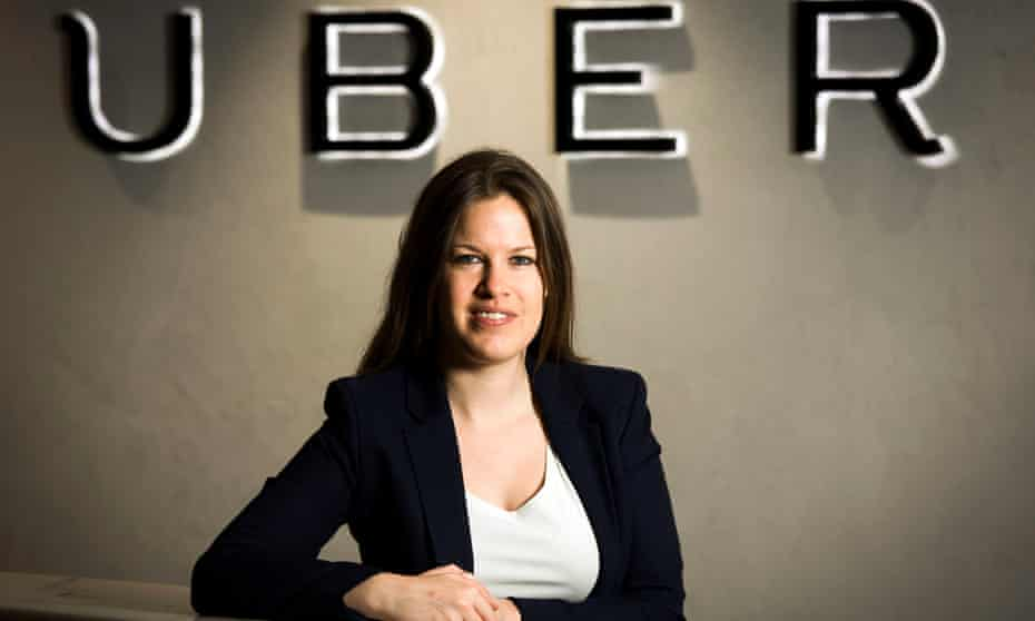 Jo Bertram, a former McKinsey consultant who now runs Uber in Britain, Ireland and the Nordic countries.