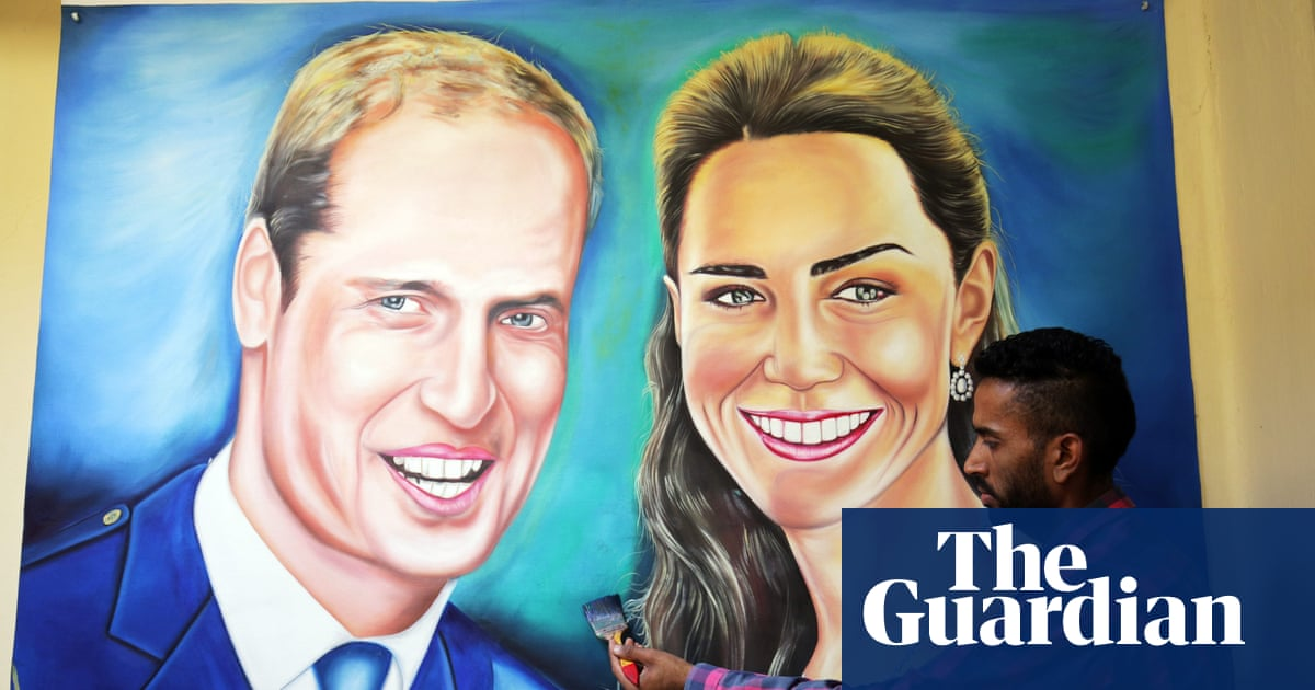 Prince William and Kate visit India – in pictures | UK news