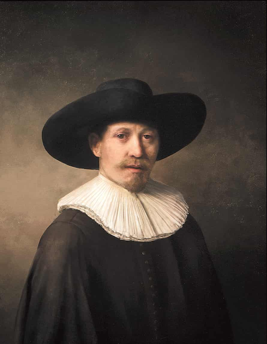 The Next Rembrandt, unveiled in Amsterdam: the new artwork is based on 168,263 Rembrandt painting fragments.