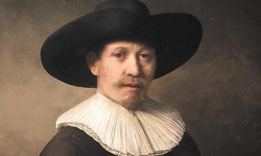 A detail of The Next Rembrandt: a print made via an app.