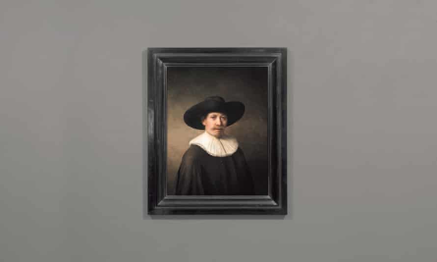 The Next Rembrandt. A masterpiece printed - with considerable guidance - by an artificial intelligence.