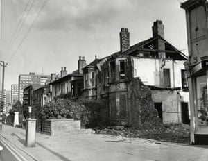 In 1974 these old properties near Argyle Street in Hull were due for demolition .
