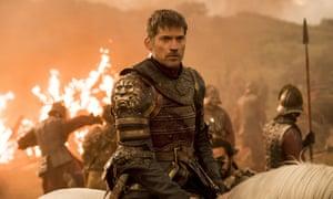 Nikolaj Coster-Waldau as Jamie Lanister … not the best source of Game of Thrones gossip
