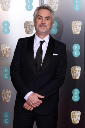 Sharp shooter … Roma director Alfonso Cuarón