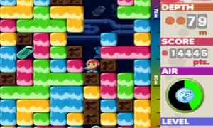 Unsurprisingly, 2D titles such as Mr Driller have aged better than the early 3D titles.