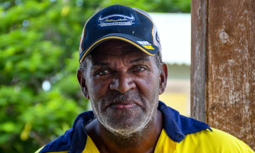 Longtime Warraber fisherman Boggo Billy