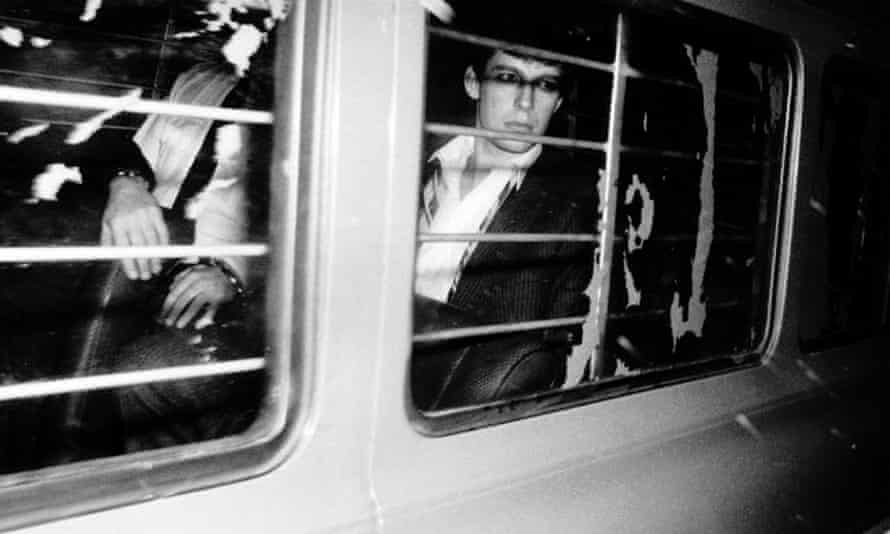 Jeremy Bamber being taken to jail after being convicted of killing five members of his family