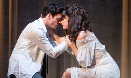 'Intermittent fizz': Richard Madden and Lily James as Romeo and Juliet.