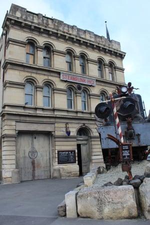 Steampunk HQ, a museum, in Oamaru.