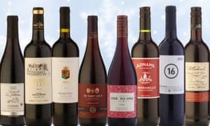 Red wines under £10