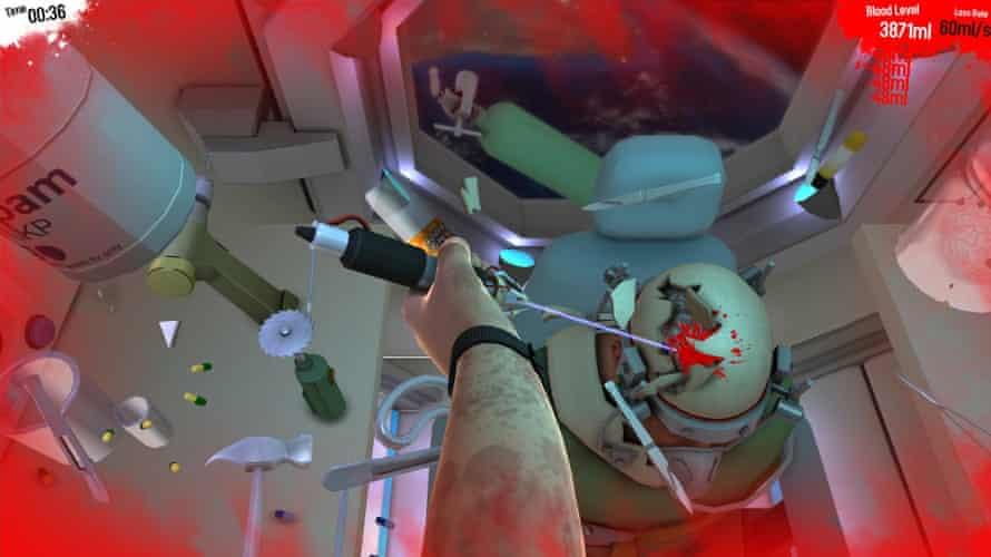 Surgeon Simulator.