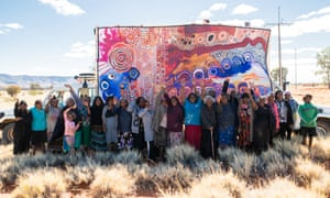Senior women artists from the APY lands.