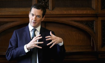 George Osborne addresses guests at the Manchester Chamber of Commerce on 1 July.