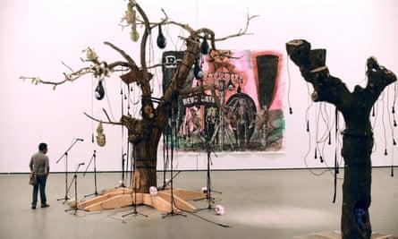 Art by Damien Deroubaix at Les Abattoirs.