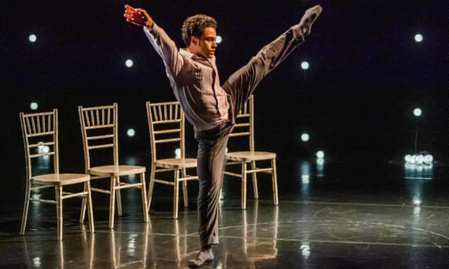 Dane Hurst in The Knot by Umanoove and Didy Veldman at The Place Theatre.