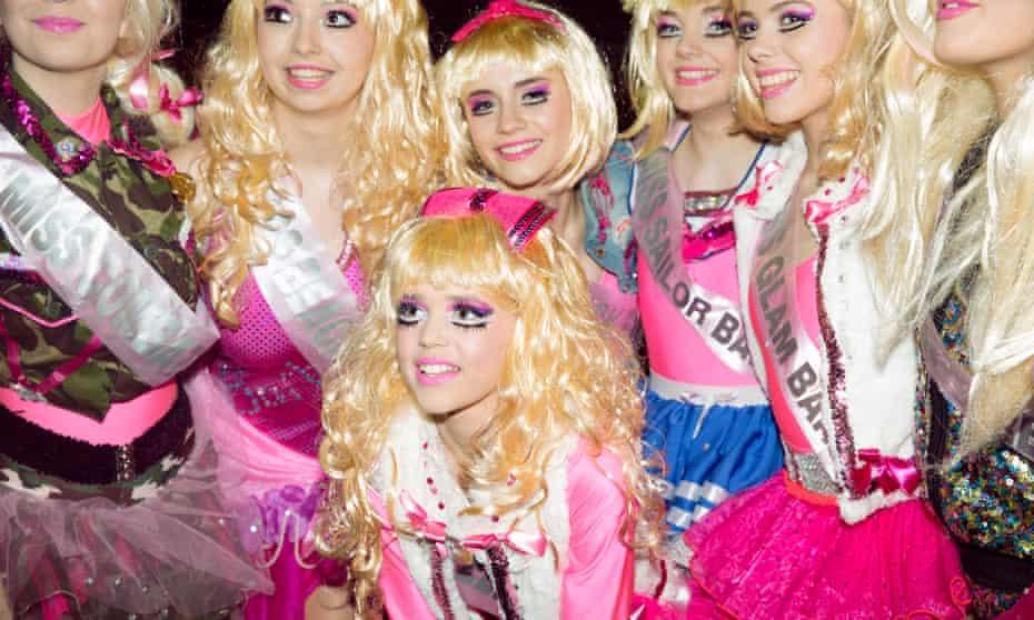 Sheer kitsch: carnival season in Somerset.