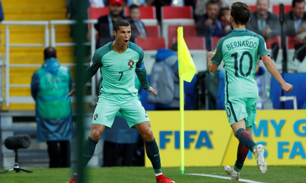 Cristiano Ronaldo and Bernardo Silva have become well acquainted on international duty with Portugal.