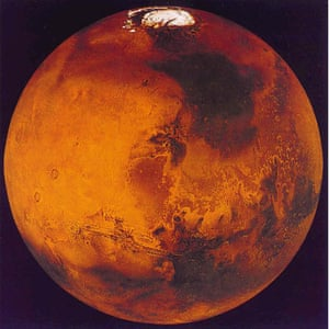 Mars is bathed in ultra violet light which turns the Martian soil sterile.