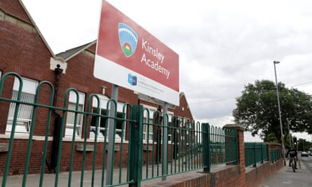Kinsley Academy a member of the Wakefield City Academies Trust, West Yorkshire.