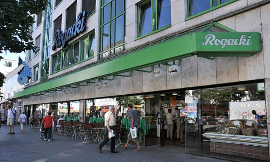 delicatessen shop Rogacki at Wilmersdorfer Strasse