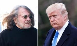 Dr Harold Bornstein and Donald Trump and Donald Trump.