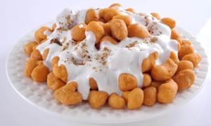 Dahi bhalla is a dish of lentil dumplings served in yoghurt.