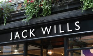 Picture of Jack Wills storefront
