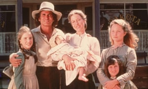 Moving house ... the cast of the evergreen TV favourite Little House on the Prairie.