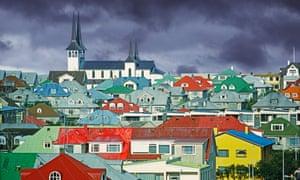 Reykjavík in Iceland