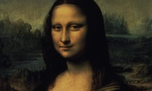 Mona Lisa … Walter Isaacson's new biography reveals how Da Vinci drew her lip muscles with skin on and skin off. BBC/Illuminations