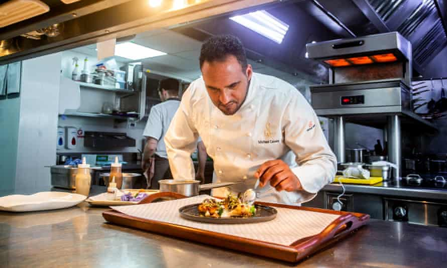 One Of The Uk S Only Black Michelin Starred Chefs Racism Is Their Problem Not Mine Chefs The Guardian