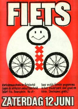 Amsterdam Fietst poster