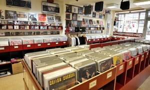 Groove City record shop in Hamburg.