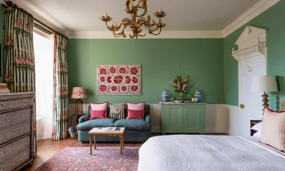 A townhouse room at No 1 Bruton