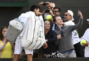 London, UK Novak Djokovic pulls out of Wimbledon with an injury to his elbow