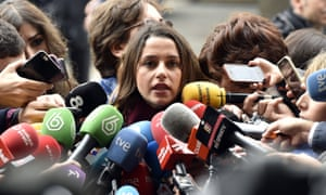 'Inés Arrimadas is treated as if she is an impurity whose stain must be removed.'