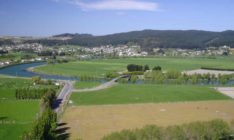 The town of Kaitangata on New Zealand's South Island.