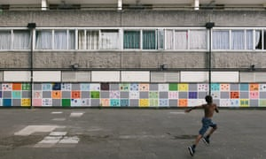 Child in Aylesbury estate