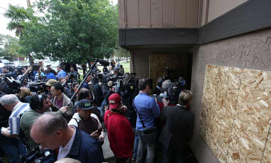 media San Bernardino shooting suspect home Syed Farook