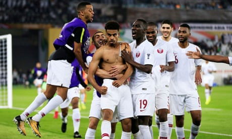 Qatar stun Japan with 3-1 win to be crowned Asian Cup champions