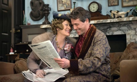 Meryl Streep and Hugh Grant in the bittersweet Florence Foster Jenkins.