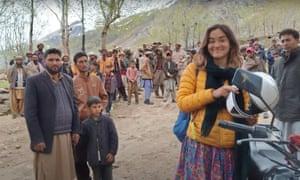 Alex Reynolds visiting Gilgit-Balitistan in 2019.