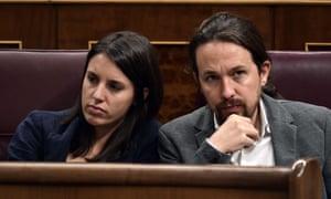 Irene Montero and Pablo Iglesias