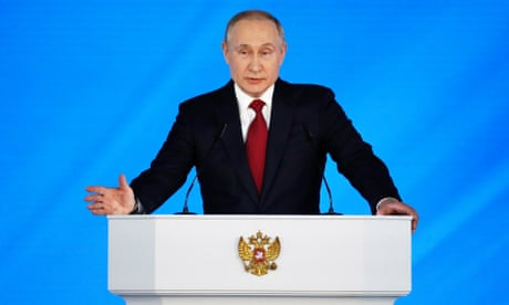Russian PM and government resign as Putin proposes sweeping constitutional changes