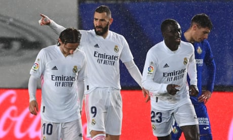 European roundup: Real Madrid close gap on Atlético with win over Getafe