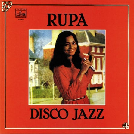 Biswas on the album cover of Disco Jazz.